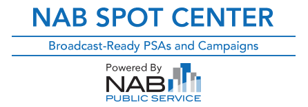 NAB Spot Center | Powered by NAB Public Service